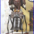 #38446 Eagle on Bell Figurine