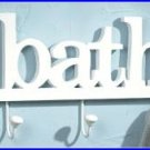 #36667 Bath Clothes Hook Wall Plaque