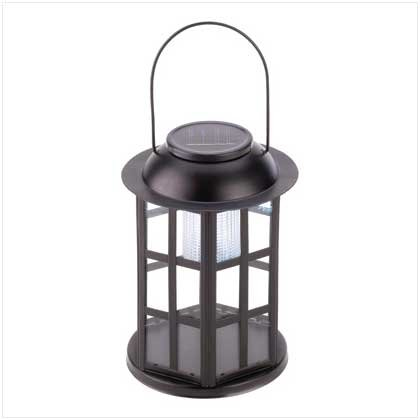 #12526 Solar Carriage Lantern