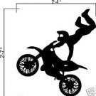 Wall Vinyl Decals Stickers - Dirtbike Rider MX X Games