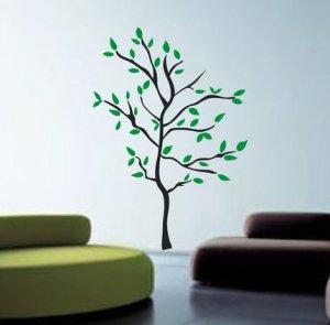 Huge Modern Tree Wall Decal Sticker Nature Nursery Baby Kid Boy Girl Room
