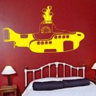 THE BEATLES YELLOW SUBMARINE decal sticker wall music beautiful