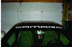 CAMARO VINYL WINDSHIELD BANNER, DECAL, STICKER