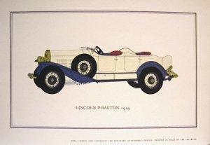 Lincoln Phaeton 1929