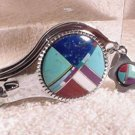 Nail Clipper Bottle Opener Inlaid Turquoise Agate