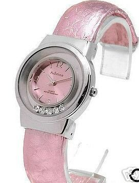 New Watch by ADRINA with Floating Austrian Crystals