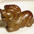 New Chinese Smoked Jade Foo Dog