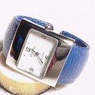 New Blue Reptile Bracelet Watch