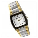 New Narmi Mens Two-Tone Bracelet Watch