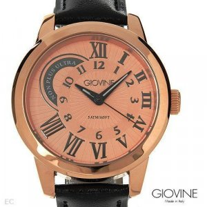 New GIOVINE  Mens Watch Made in Italy ogi0017rgnrnr