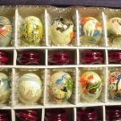 Hand Painted JADE Eggs  Wildlife (10)  Animals