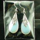 Opalite Sterling Silver Teardrop Earrings