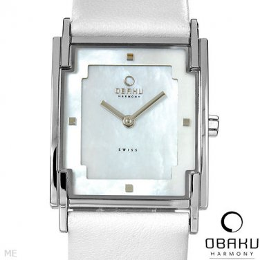 New OBAKU HARMONY Ladies Watch MOP