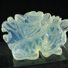 Hand Carved Opalite DRAGON