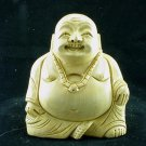 Hand Carved Laughing Buddha Kadam