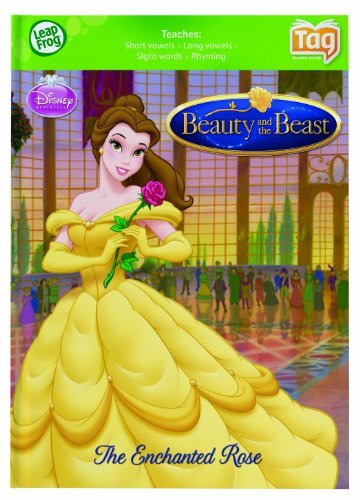 Disney Princess Beauty and the Beast Early Reader Leapfrog Tag Activity Story Learning Book 4-7 F/S