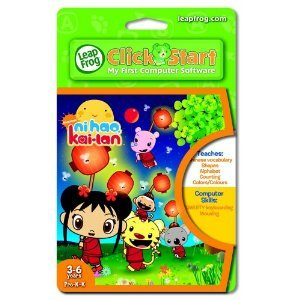 Ni Hao Kai Lan LeapFrog Click Start My First Computer Game Cartridge 3-6 Pre K-K FREE SHIP