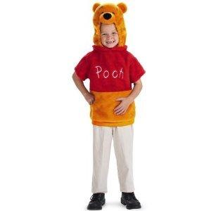 Disney Winnie the Pooh Vest  Halloween Costume Child Boys Girls Size 1-2 24 Months 2T