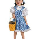 Deluxe Sequin Sparkly Wizard Of Oz Dorothy Child Halloween Costume Toddler Size 2T