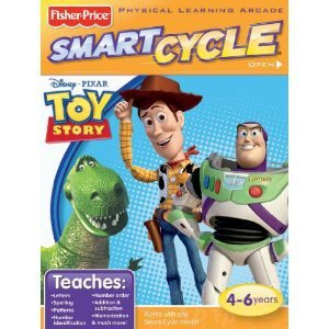 Smart Cycle Disney Pixar TOY STORY Software Game Cartridge NIB 4-6 yrs Fisher-Price