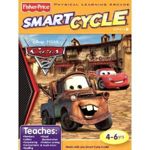 Smart Cycle Disney Pixar CARS 2 Software Game Cartridge NIB 4-6 yrs Fisher-Price