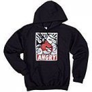 Adult Angry Birds Pullover Hoodie Hooded Sweatshirt Mens Medium Unisex New FREE SHIPPING!
