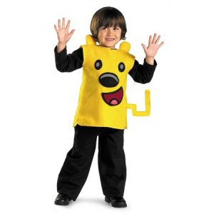 Nick Wow Wow Wubbzy Halloween Costume Toddler Girls Boys 3T 4T 3-4