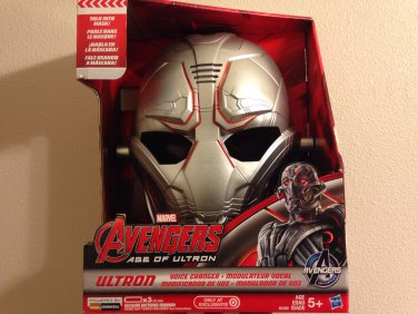 Marvel Comics AVENGERS Age of Ultron Voice Changing Mask Toy Accessory