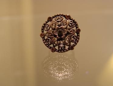 Bronze Medallion Ring