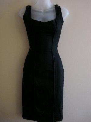 XS- Christian Weber Cocktail Dress in Black