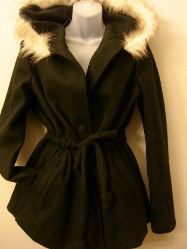 1XL- Hooded Anorak Jacket Black