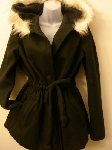 3XL- Hooded Anorak Jacket in Black