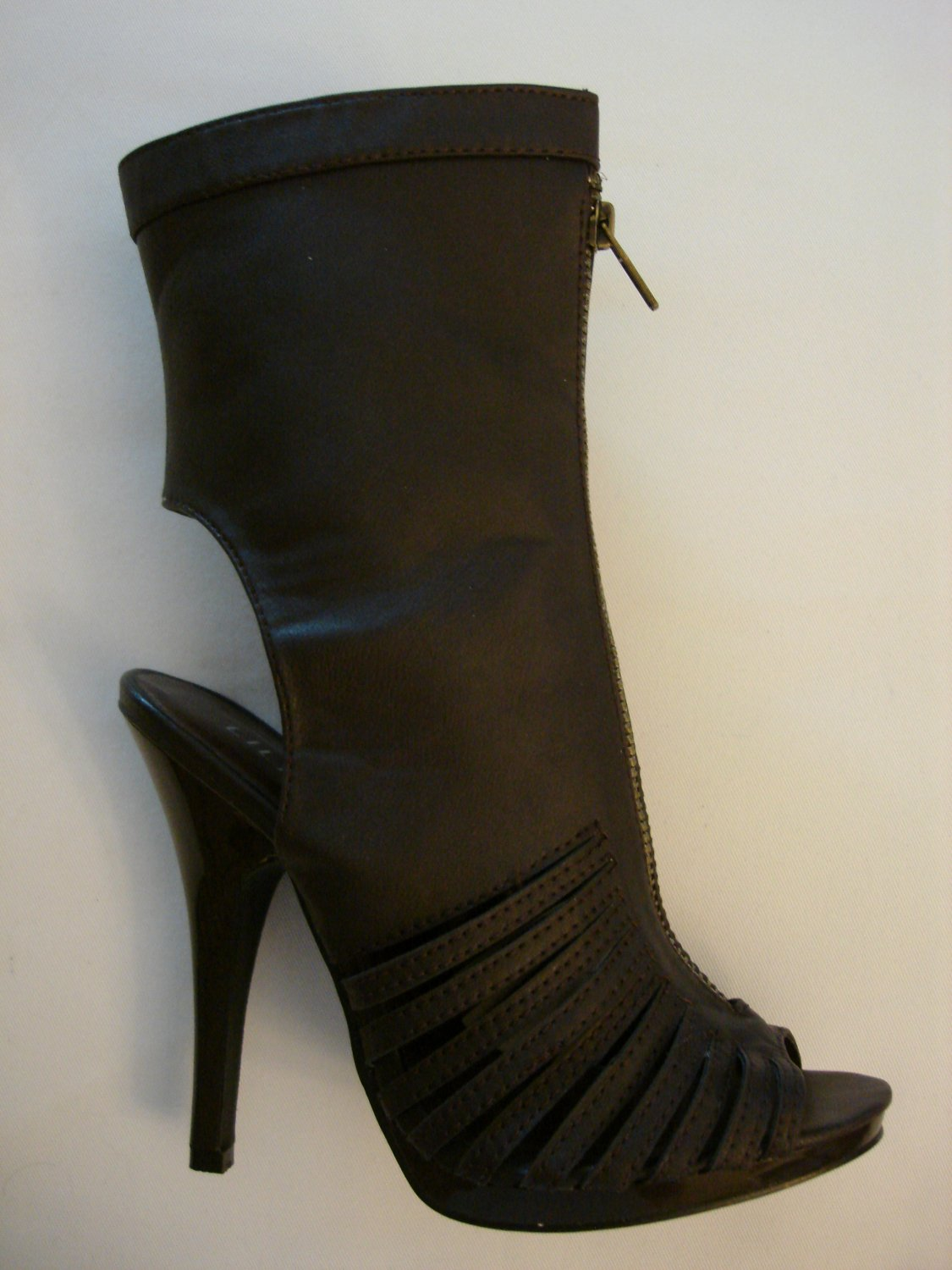 7- Brown Gladiator Boots