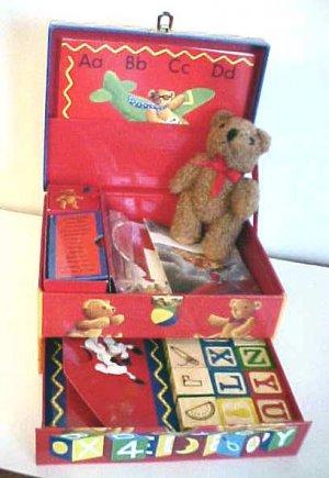 Teddy's Treasure Chest Activity Box