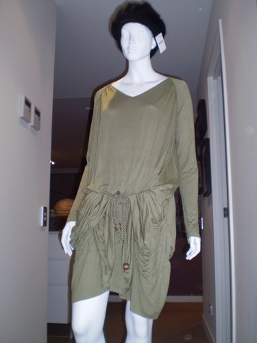 Khaki Casual Dress
