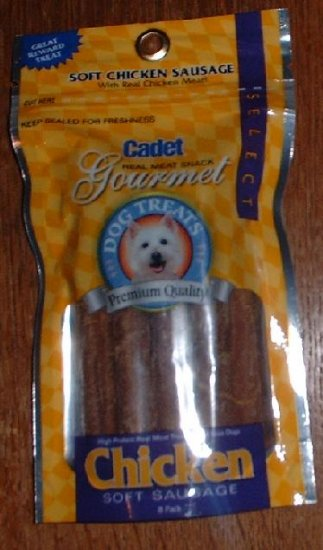 Cadet Brand Chicken Sausage Treats, 12 pack