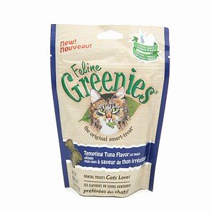 Feline Greenies!  Tuna Flavor! 3 oz