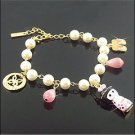 Korean Jewelry [67215] Cute & Lux Traditional Doll Pearl  Bracelet  (value @ $13.5)
