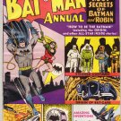 Batman Annual # 1 VF- to VF