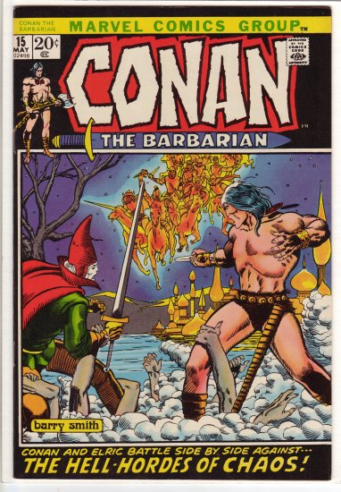 Conan # 15 CGC Quality 9.4 to 9.6