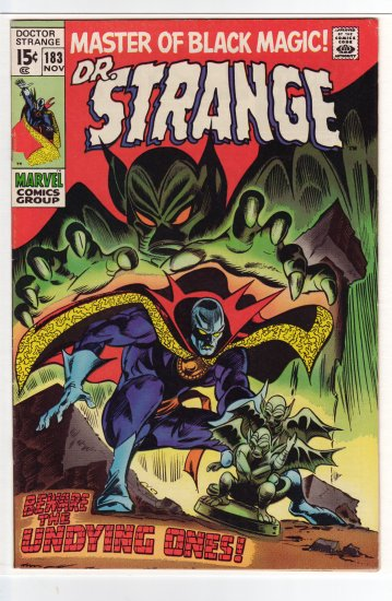 Doctor Strange # 183 VF/NM to NM-