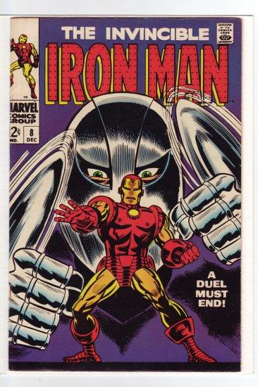 Iron Man # 8 NM- to NM 9.2 to 9.4