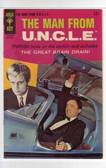 Man from U.N.C.L.E. # 14 VF+ to VF/NM