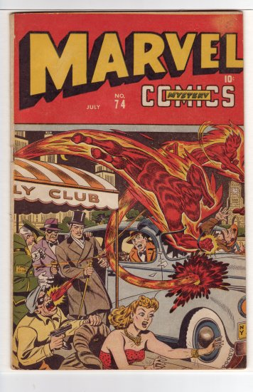 Marvel Mystery # 74 FN- to FN+