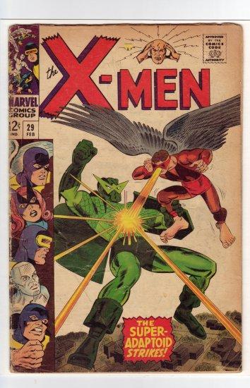 X-Men # 29 VG- to VG