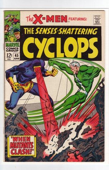 X-Men # 45  VF/NM to NM-
