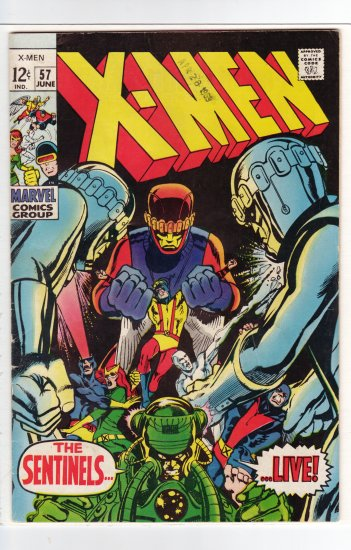 X-Men # 57 FN/VF to VF