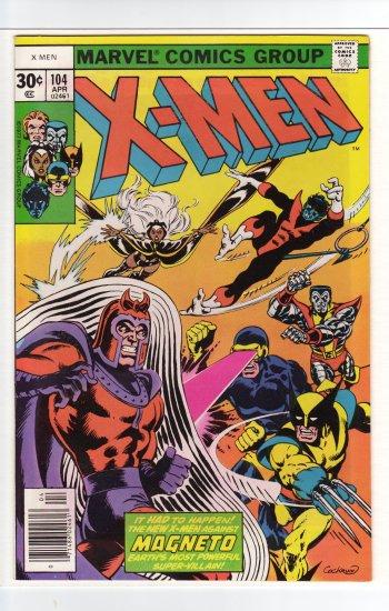 X-Men # 104 CGC Quality 9.6 to 9.8