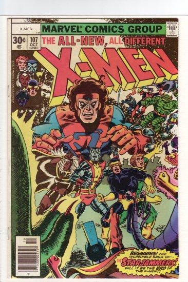 X-Men # 107 VF/NM to NM-