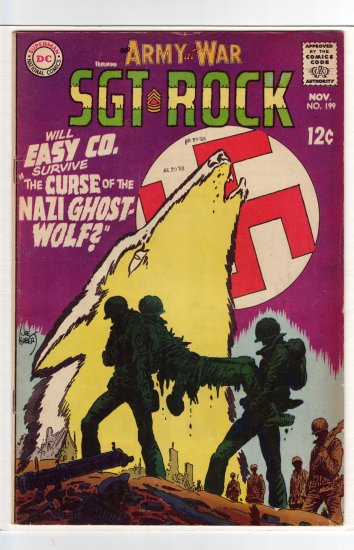 Our Army at War # 199  FN/VF to VF-